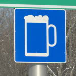 Alcohol on Road Signs?!
